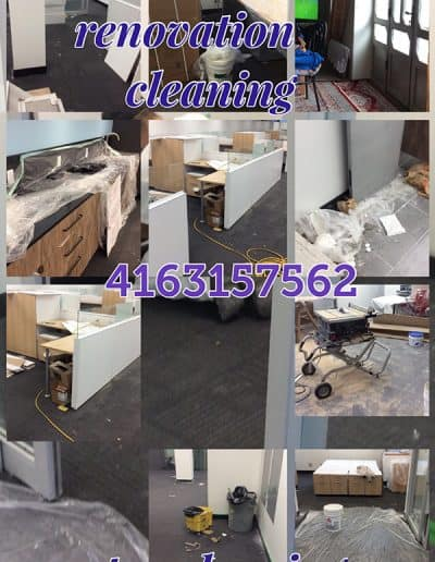 post renovation commercial cleaning