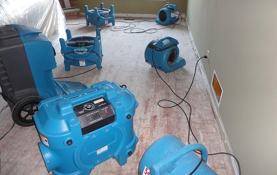 water damage restoration services in GTA